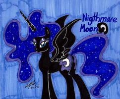 Nightmare Moon by newyorkx3