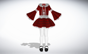 MMD Epic Classy Dress Set -UPDATE- by amiamy111