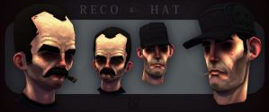 Reco and Hat by DuncanFraser