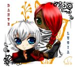 Dante and Lucia Chibiko DMC2 by tsukichire