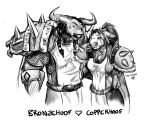 Copper n Bronzehoof by baenling