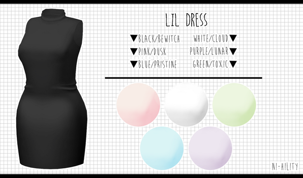 Lil Dress [DL ] by Avant-Garde3D