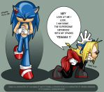 Sonic and Ed by phoenix-66