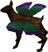 Butterfly fawn 3 by Seitira