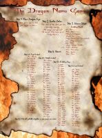 The Dragon Name Game by Akili-Amethyst