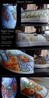 Custom Rotom Shoes. by Chocolate-Pikachu
