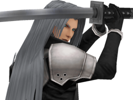 Sephiroth - Just a Project 4 [Final Fantasy VII] by Shin-Orojin
