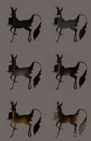 Fawnlings November 2014   Blackwood Doe Auction by femalefred