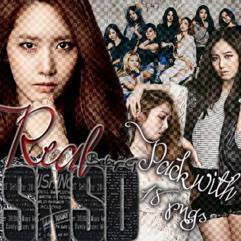 SNSD Real Baby-G PNG PACK by Sellscarol