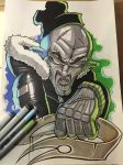 Comic marker action 2 by ASCOE