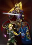 Twisted Triforce by Gatobob