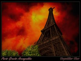 Paris Greets Armageddon by ToysoldierThor