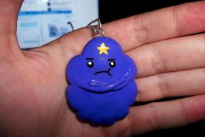 lumpy space princess polymer clay charm by kireji00