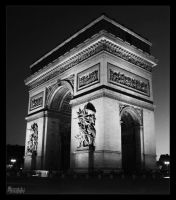 Arc de Triomphe by Coralulu