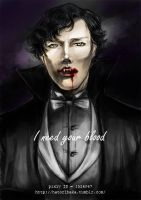 I need your blood by gundam-kun