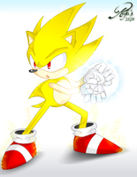 Super Sonic's Hadouken by rafasonic