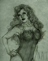 poison ivy ' question mark by maayes