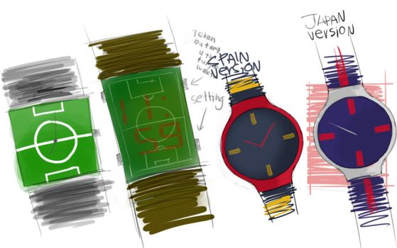 Watches Sketch by haziq143
