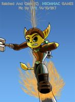 RATCHET AND CLANK on the go by dantiscus