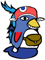 Prinny Pretty Pony by SuperMario1550