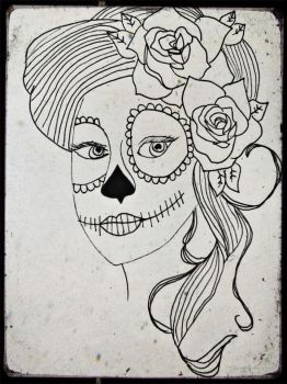 day of the dead girl by Kherunnissa101