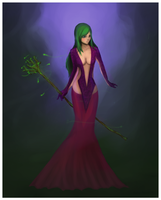 Costellia, the witch. by fucduck