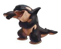 Laughing orca by Keaze