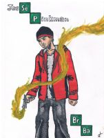 Jesse Pinkman (Breaking Bad) by TheLittleClown
