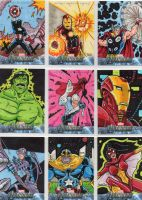 Avengers Assemble! Sketch Cards batch 1 by JamesRiot
