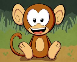 Monkey by EnciferART