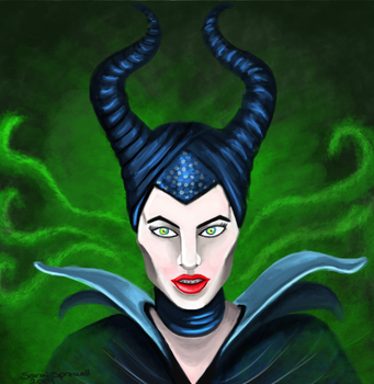 Maleficent by theKatandtheBox