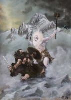 Crom VS Ymir by Nordheimer