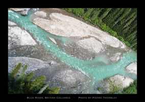 Blue River by P-Photographie