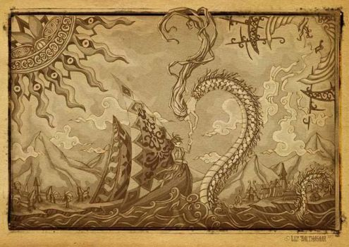 The Prince who was Loved by the Sea by LuzBalthasaar