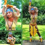 Lady Luck Rikku cosplay by Vanne