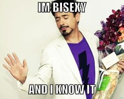 RDJ: Bisexy and I know it. by 564223gurl
