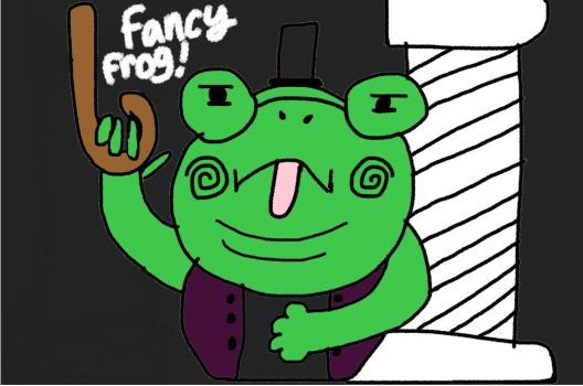 Fancy Frog by SnowFlake778