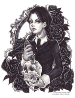+ Wednesday Friday Addams + by C-Yen