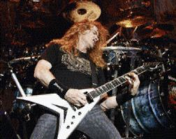 Dave Mustaine Photo Mosaic by whendt