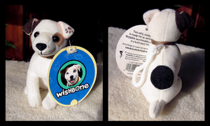 Wishbone - Sitting Keychain Plush With Tag by The-Toy-Chest