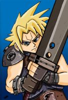 Cloud Strife by AngelCrusher