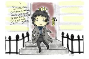 BBC Sherlock - Day in the Life by anruiukimi