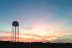 Small town sunset by andrulius247