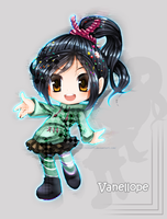 Vanellope by BloomTH