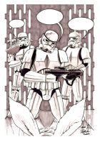 STORMTROOPERS by REDBAZ