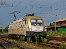 470 010 'Aranycsapat' in Gyor in august, 2012 by morpheus880223