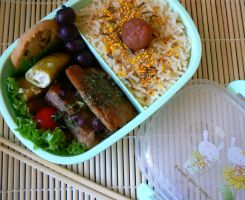 4th Bento by chaosqueen122