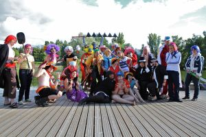 Casual - One piece group by SaaraZ