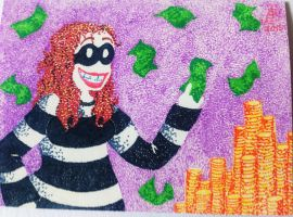 ACEO accrue interest through robbery by Fevley
