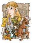 Zelda twilight princess by Chocolerian